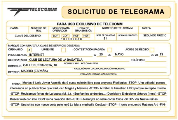 bitacora-telegrama-club-lectura-bagatela