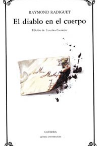 """""""El diablo en el cuerpo"""", de Raymond Radiguet (porLucía)"""