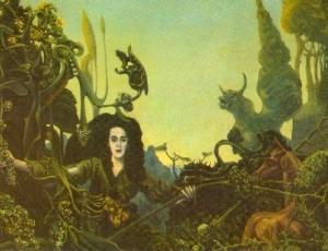 """Leonora a la luz matinal"", por Max Ernst"
