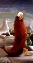 """Portrait of Max Ernst"", por Leonora Carrington"