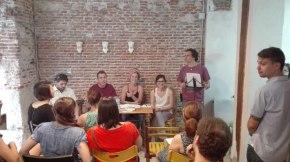 """¡Exitazo de la presentación de la traducción de """"Hasta los huesos"""", de Claudine Galea! (por elClub)"""